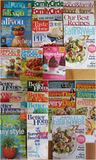 Rachael Ray Everyday cooking Eating Well Better Homes and Gardens + More Lg Lot