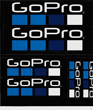 * nuevo * 6 x GoPro-sticker/pegatinas-set Nº 03 (made in USA)