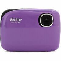 "Vivitar 4.1MP Digicam 4X Zoom Digital Camera w/ 1.5"" Screen - Purple (V46-PUR)"