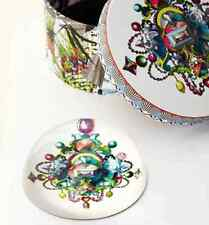 NEW Christian LACROIX BIJOUX Jewel Glass PAPERWEIGHT Round Decorative Gift Box