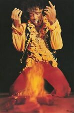 JIMI HENDRIX POSTER Fire RARE HOT NEW - PRINT IMAGE PHOTO