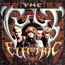 The Cult Electric Banner Huge 4X4 Ft Tapestry Fabric Poster Flag album cover art
