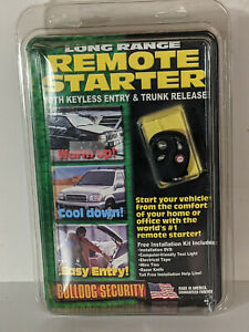 Bulldog Security Remote Starter Keyless Entry RS700 New - 2 units AVAILABLE