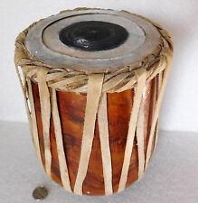 """TAMBURO tribale in legno Strumento Musicale A Percussione 7"""""""