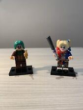 DC Comics Joker & Harley Quinn Ladrillo Lego Personalizado COMPATIBLE minifigura Reino Unido Envío
