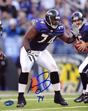 Michael Oher SIGNED 8x10 Photo The Blind Side RookieGraph PSA/DNA AUTOGRAPHED