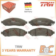 FRONT DISC BRAKE PAD SET FOR NISSAN TRW OEM 41060ZP025 GDB3404 HEAVY DUTY