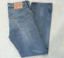 Mens Levis 502 Regular Taper Fit Grey Jeans W33 L33 -  Excellent Condition