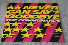 """The Communards Never Can Say Goodbye/Tomorrow 12"""" 1987 US Vinyl Single NM"""