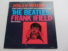 JOLLY WHAT THE BEATLES & FRANK IFEILD ON STAGE ORIGINAL 1964 USA VEE JAY PRESS
