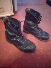 German Paratrooper Boots Size Uk 9 Black Used combat army military surplus