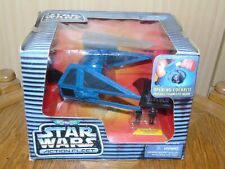 Micro Machines Star Wars Action Fleet TIE Interceptor komplett mit US Box