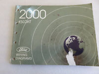 2000 Ford Escort Service Manual Electrical Wiring Diagrams OEM Factory Workshop