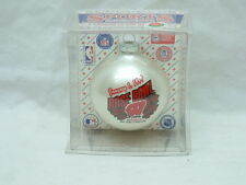 Wisconsin Badgers Rose Bowl Christmas Glass Ball Ornament - 1999 - NEW