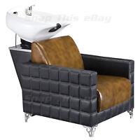 Salon Shampoo Back Wash Sink Unit Basin Chair Barber Hairdresser Hairdressing