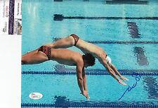 Mark Spitz signed Olympics swimming 8x10 photo JSA Authenticated Q30701
