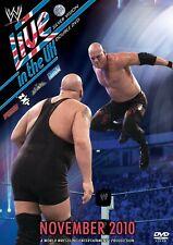 WWE Live In The UK November 2010 2x DVD