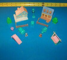 Teddy's Wonderland Vintage 1990's  Playset Lot   Miniature Teddy Bears