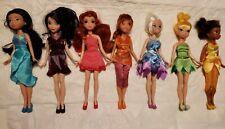 New ListingDisney Fairies Dolls Lot of 7