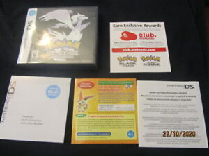 POKEMON BLACK VERSION GAME BOY DS(CASE AND ART WORK ONLY.)