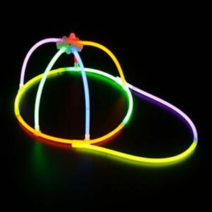 Glow in The Dark Cap in Bulk Party Favors 7 pack glow cap