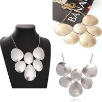 Women's Fashion Jewelry Charm Chunky Bib Statement Choker Chain Necklace Pendant