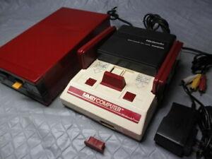 Nintendo Famicom NES console AV MOD Disk System Set Working New Belt excellent