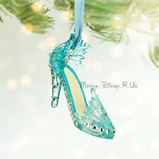 New Disney Store Frozen Ice Queen Elsa Runaway Shoe Christmas Holiday Ornament