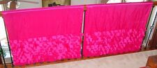 "SPRINGS GLOBAL Hot Pink Fuchsia Curtains 2 Panels 40"" X 84"""