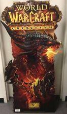 World of WarCraft: Cataclysm Floor Display Standee    NIB  NEW   WOW