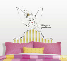 TINKER BELL HEADBOARD GiaNT WALL DECALS Disney Fairies Tinkerbell Stickers Decor