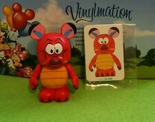 "Disney Vinylmation 3"" Park Set 1 Animation Mushu from Mulan with Card"