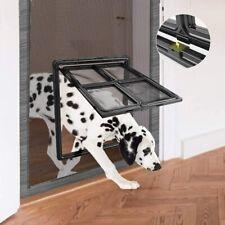 Namsan Pet Screen Door - Dog Sliding Door for Exterior Doors Magnetic Lockable D