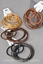 28 PC Fashion Bracelet Earring Sets Wholesale Lot 24 Bracelets 4 Pairs Earrings
