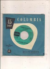 FRENCH 45 T JIMMIE RODGERS  KISSES SWEEETER THAN WINE / HONEY COME