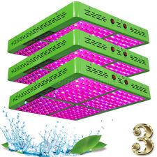 3*Reflector 960W LED Grow Light Hydroponic Indoor Full Spectrum Panel True 388 W
