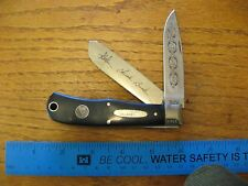 Buck Knife Trapper 334 limited edition Year 2000 sn 0799/1000