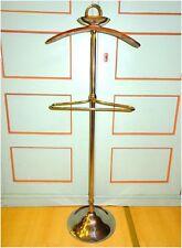 Art Deco /Bauhaus Stil Stummer Diener Herrendiener Kleiderständer Kleiderbutler