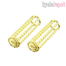 Lowrider Twisted Gold Handlebar Bicycle Grips Cruiser Custom Bike Grip 165492