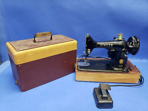 Vintage SINGER Electric Sewing Machine 99K EM112370  Working Machine