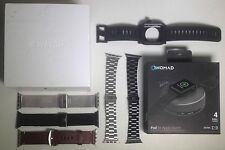 Apple Watch 42mm Space Black Milanese MMG22LL/A With Bonus Items Accessories