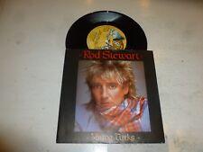 "ROD STEWART - Young Turks - 1981 UK solid centre 7"" vinyl single"