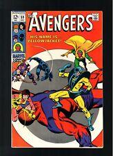 AVENGERS # 59    ( 1968 )   1ST YELLOW JACKET!  MARVEL COMICS  SHARP COPY!