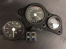 Honda Vfr400 Nc30 Rare Uk Model Mph Clocks Speedo Tacho Temperature Guages