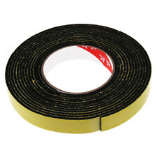 5m Black Single Sided Self Adhesive Foam Tape Closed Cell 20mm Wide x 3mm Thi SS