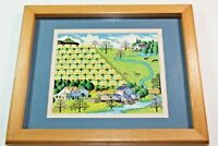 Charles Wysocki SPRING TIME Art Print Georgina's Country Creations USA Picture