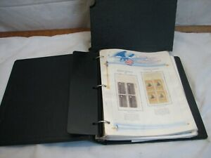 White Ace US Commemoratives Stamp Album Liberty Series 1967 - 1969 Mint Block