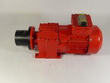 Sew Eurodrive R17FDT71D4 Gearmotor 50/60HZ .37KW ! WOW !