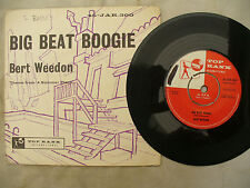 BERT WEEDON BIG BEAT BOOGIE + gatefold picture sleeve jar 300