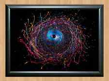 PSYCHEDELIC Trippy Funky Mushrooms Audio Video Visulization A4 Photo Print 16